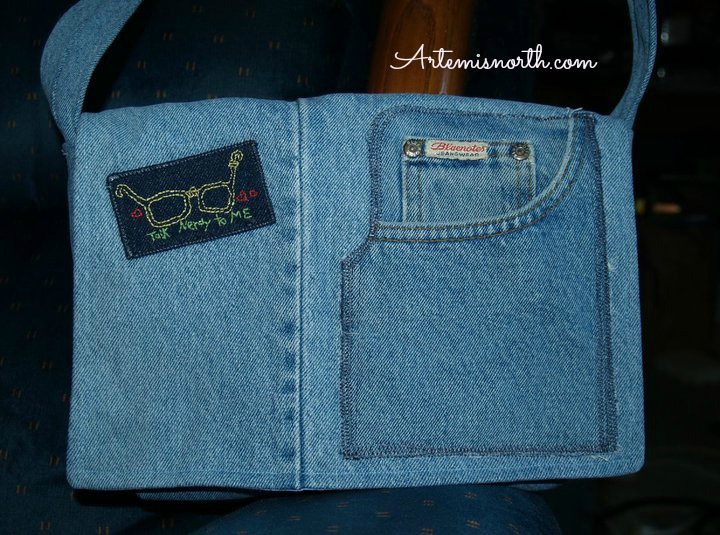Free Sewing Tutorial: Re-purpose Old Jeans