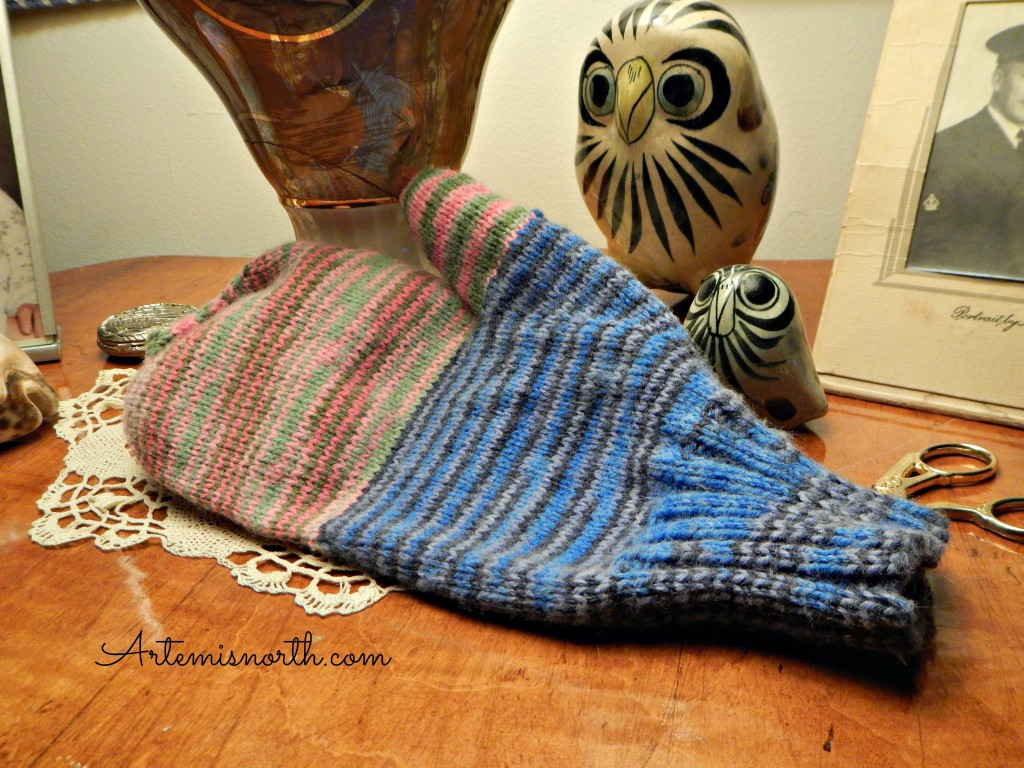 Basic Sock Yarn Mitten