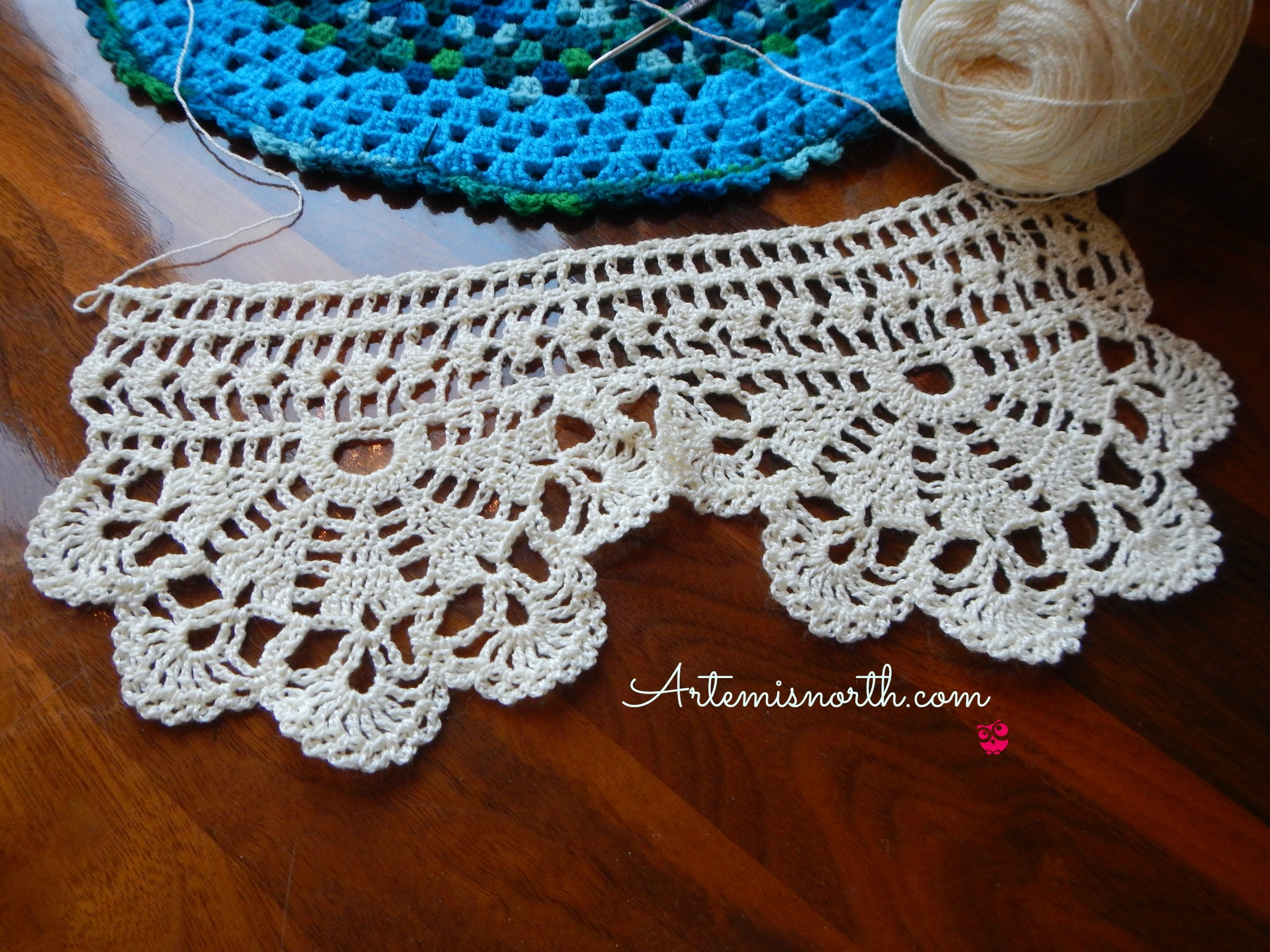 Free Crochet Pattern: Wide Economy Lace Edging