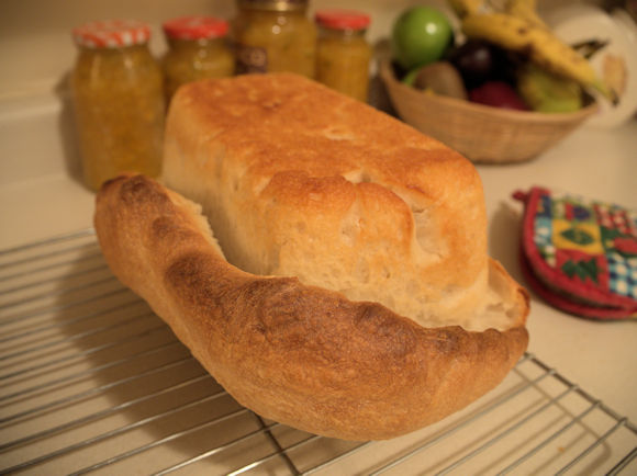 Bread, Like Life, Doesn't Have to be Perfect to be Good.