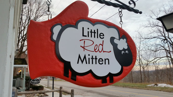 Little Red Mitten I think I've Come Home.
