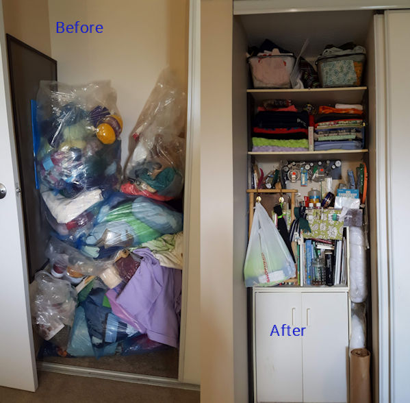 My Recycled Craft Closet – Using What You Have Is Rewarding